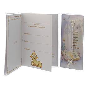 Livret souvenir Confirmation chapelet italien s2