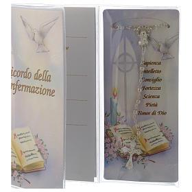 Livret souvenir Confirmation chapelet italien s3