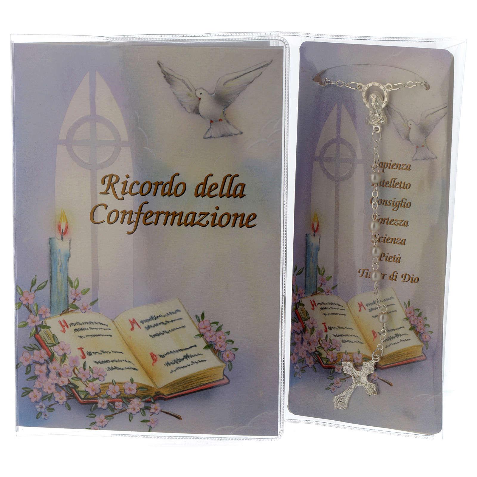Libretto Ricordo Cresima Rosario - Italiano 3