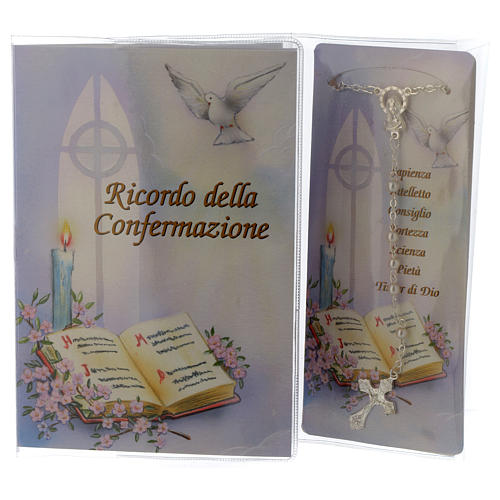 Libretto Ricordo Cresima Rosario - Italiano 1