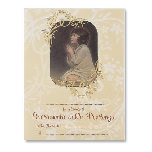 Pergamena Confessione Piccolo Samuele 1