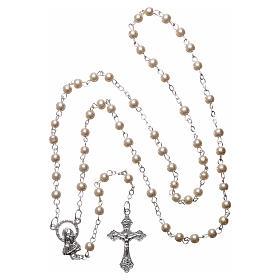 Cartulina recuerdo comunión salmo y rosario s5
