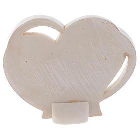 Bomboniera cuore per Comunione h. 10 cm s2