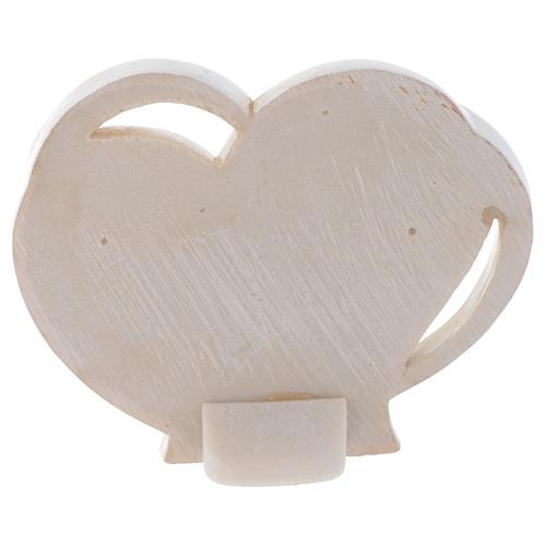 Bomboniera cuore per Comunione h. 10 cm 2