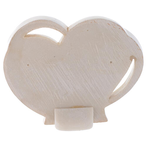 Heart shaped souvenir for Holy Communion h 4 in 2
