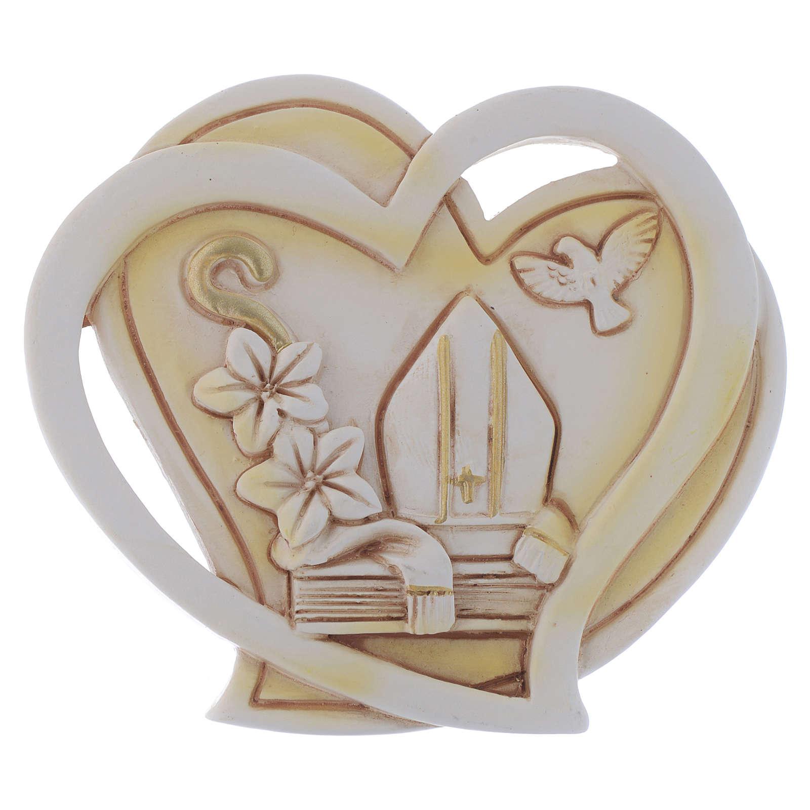 Bonbonnière thème religieux Confirmation 6,5 cm 3