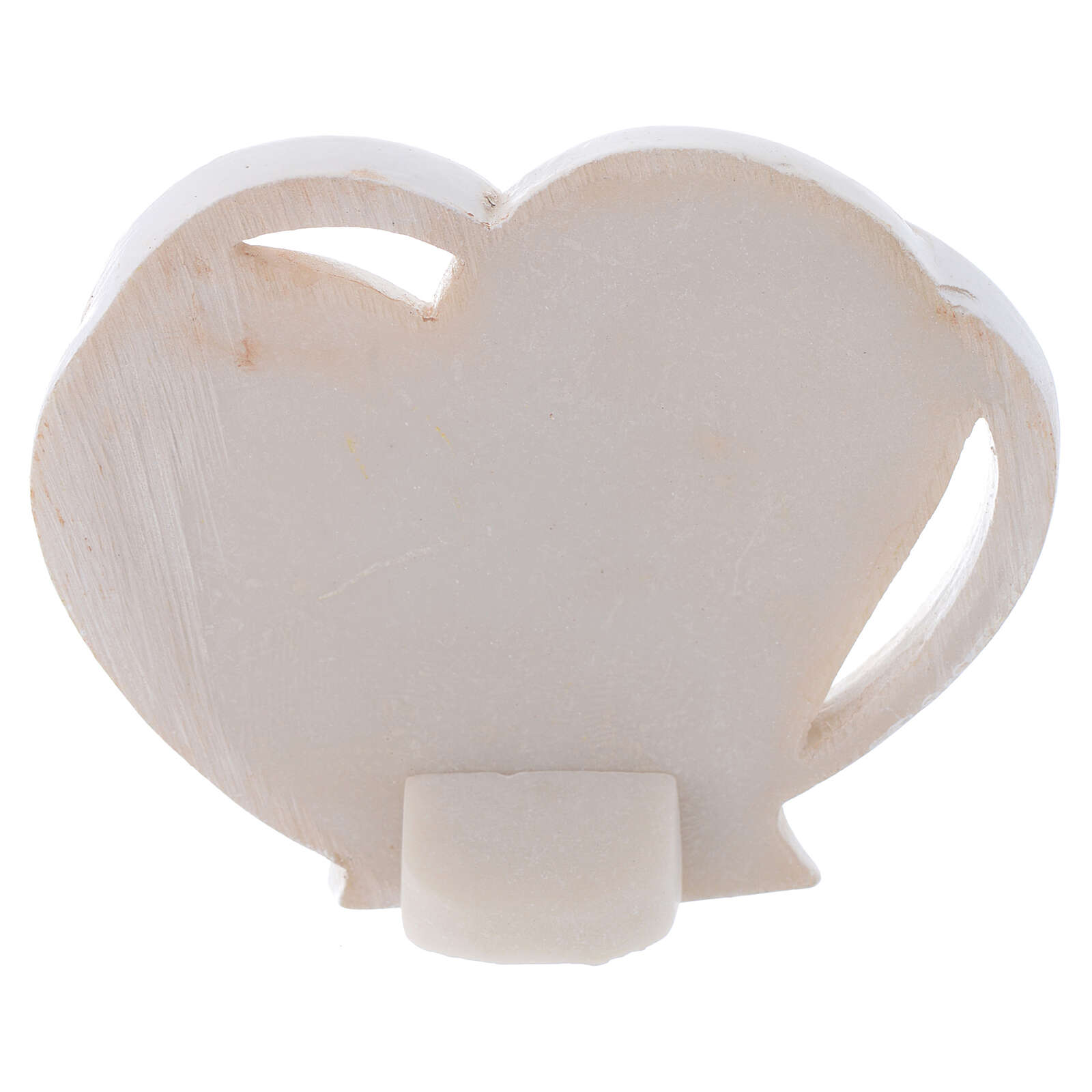 Heart shaped favor Holy Family 2 in 3