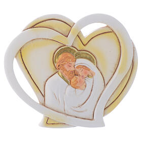 Heart shaped favor Holy Family 2 in s1