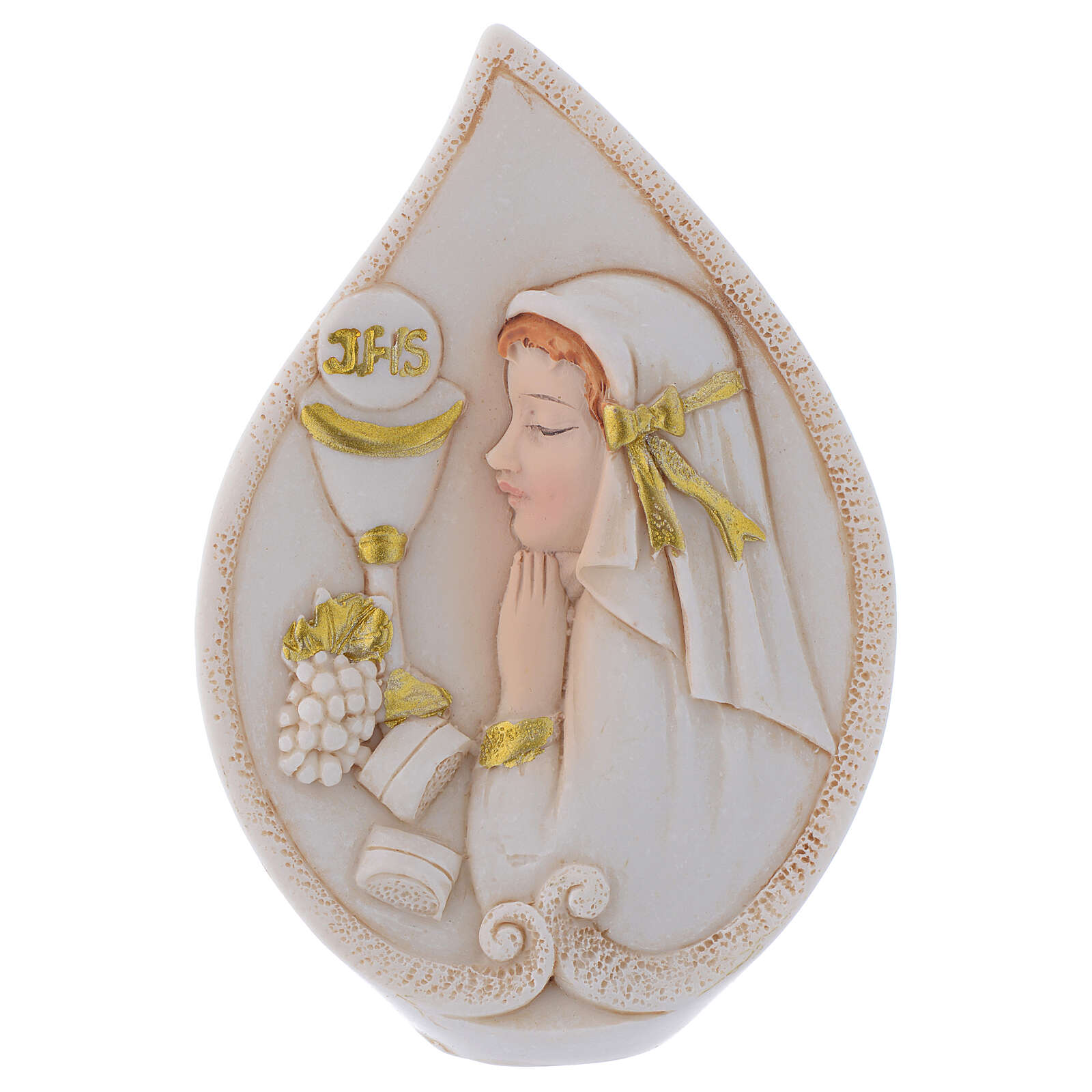 Holy Communion souvenir drop with Girl 4 in 3