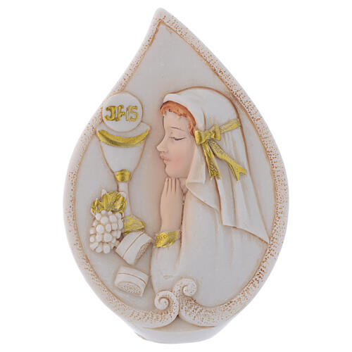 Holy Communion souvenir drop with Girl 4 in 1