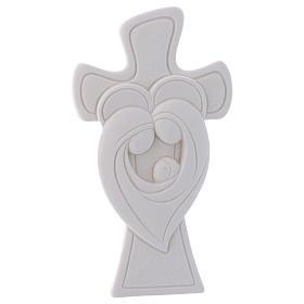 Bomboniera Croce da appoggio S. Famiglia 10 cm s1