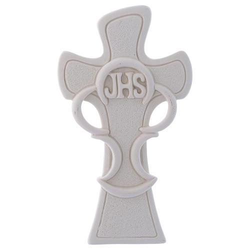 Ricordino Croce simbolo dell'Eucarestia h. 10 cm 1