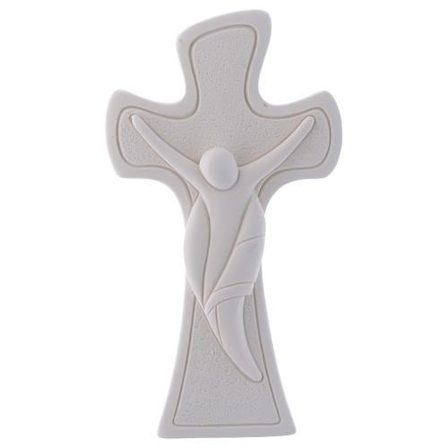 Bonbonnière religieuse Crucifix 9,5 cm 1