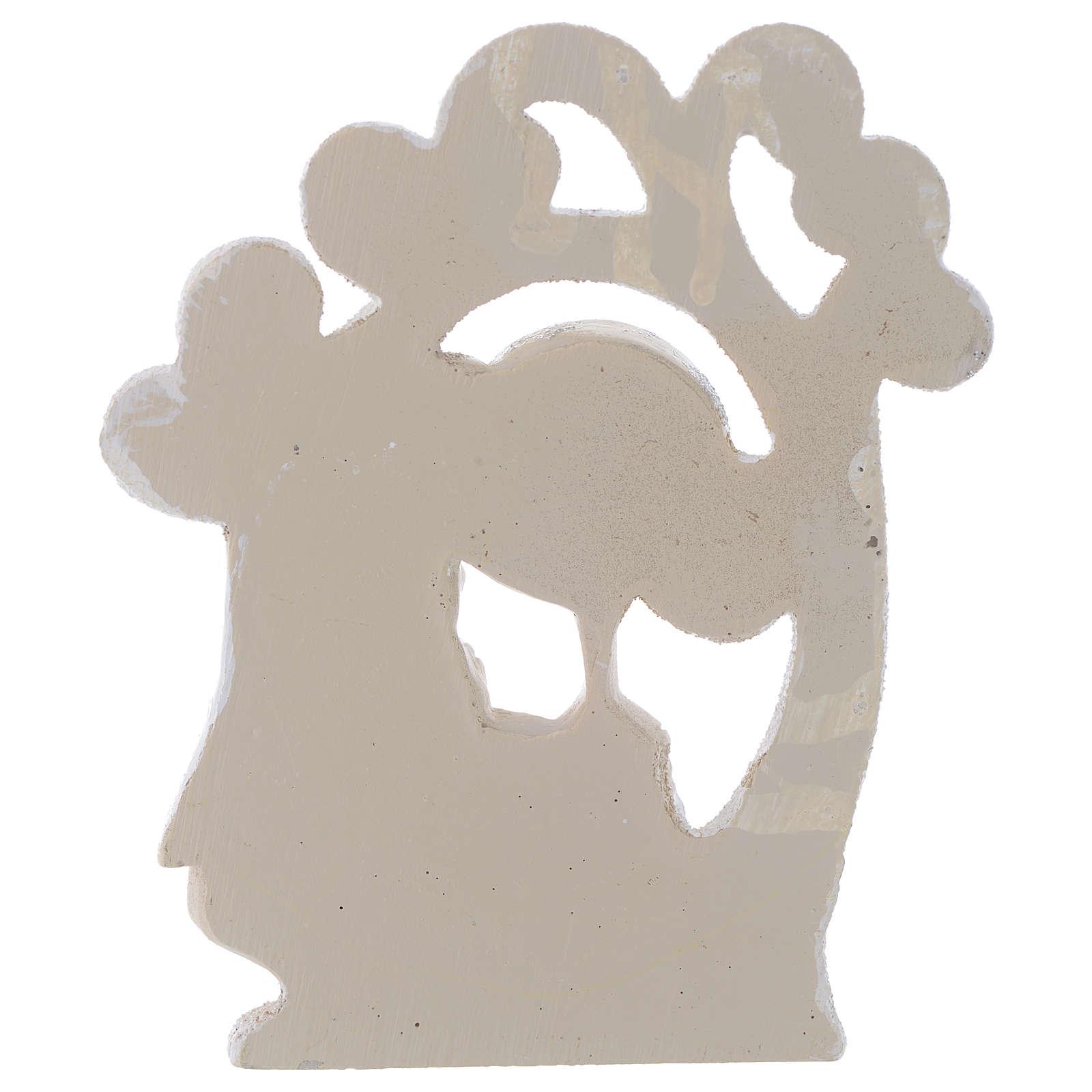 Bombonera Comunión Árbol de la Vida Niña 10 cm 3