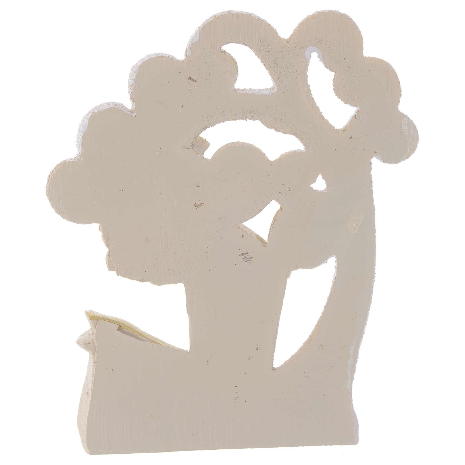 Ricordino Cresima Albero della Vita 10 cm 3