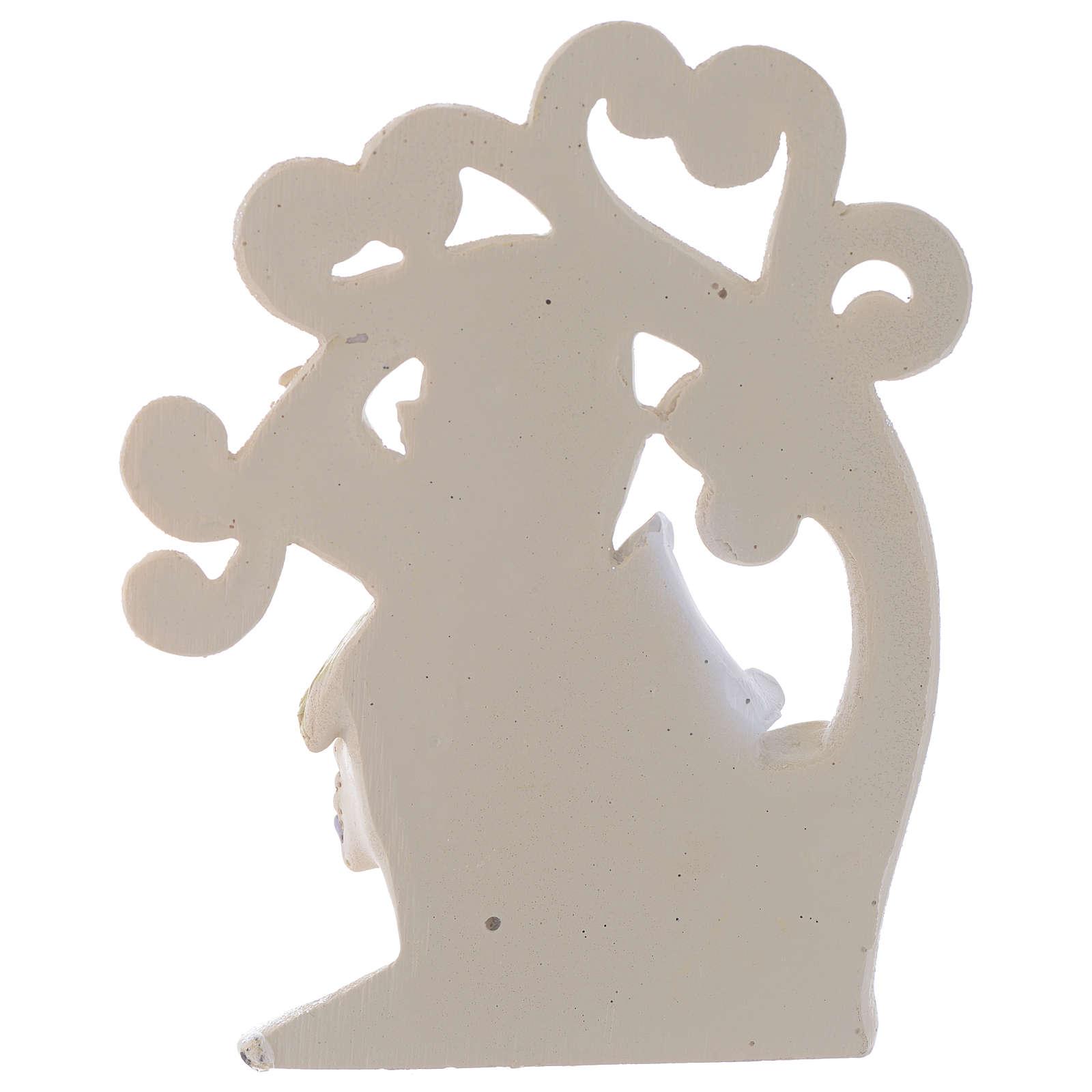 Ricordino Comunione Albero della Vita 10 cm 3