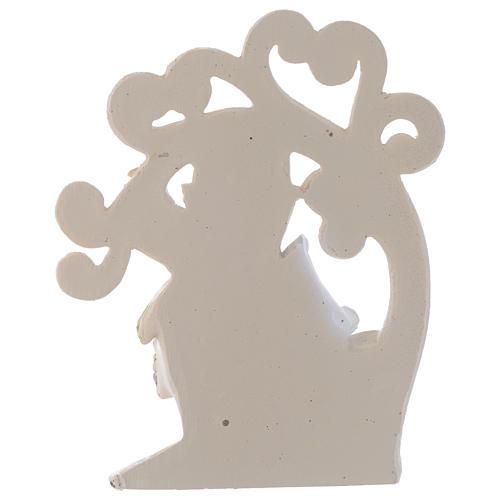 Ricordino Comunione Albero della Vita 10 cm 2