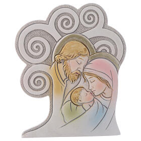Religious souvenir Holy Family Tree 10 cm s1