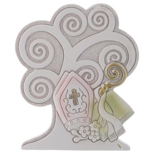 Bonbonnière Arbre de la Vie Confirmation 10 cm 1
