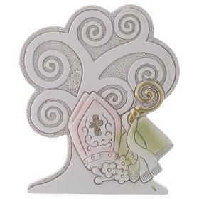 Bomboniera Albero della vita Cresima 10 cm s1