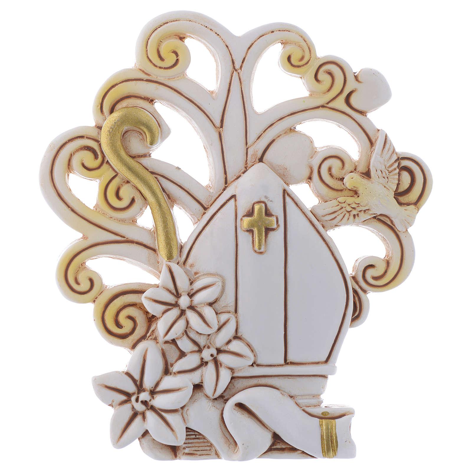 Bomboniera Cresima con sfondo Albero cm 10 3