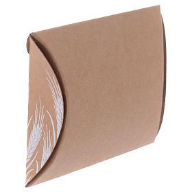 Boîte bonbonnière Communion impression en blanc h 8 cm s2