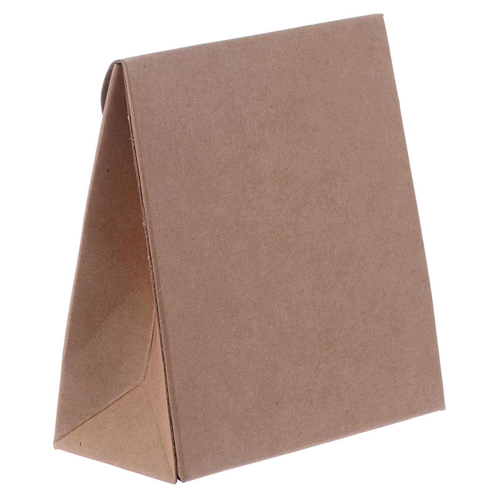 Boîte bonbonnière Communion sachet h 8 cm 3