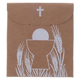 Boîte bonbonnière Communion sachet h 8 cm s1