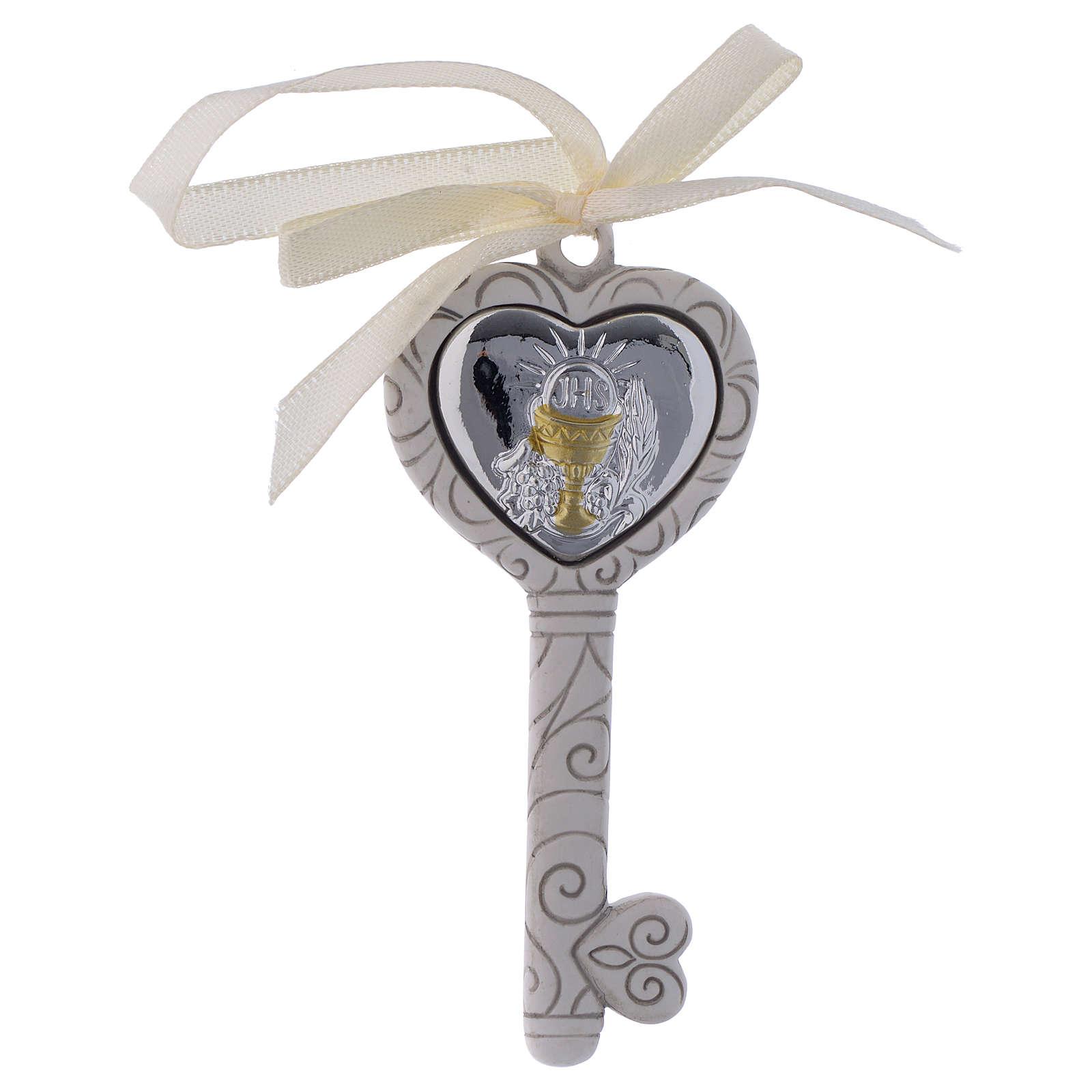 First Communion favour, key 9 cm 3