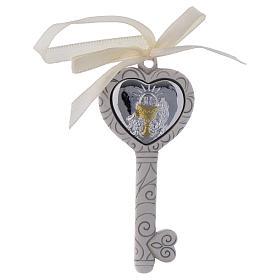 Bonbonnière religieuse pour Communion clé 9 cm s1