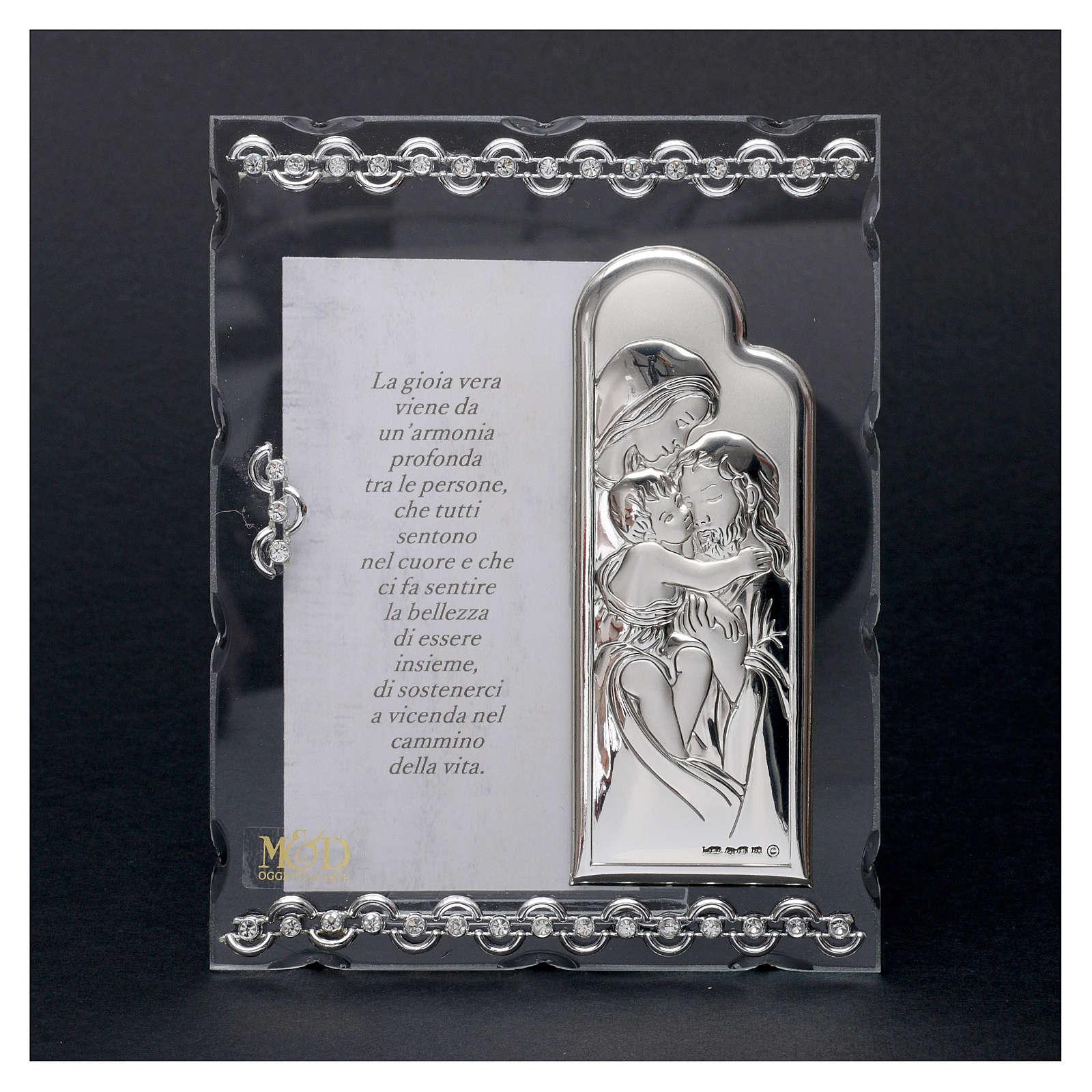 Quadretto con preghiera 15x10 cm 3