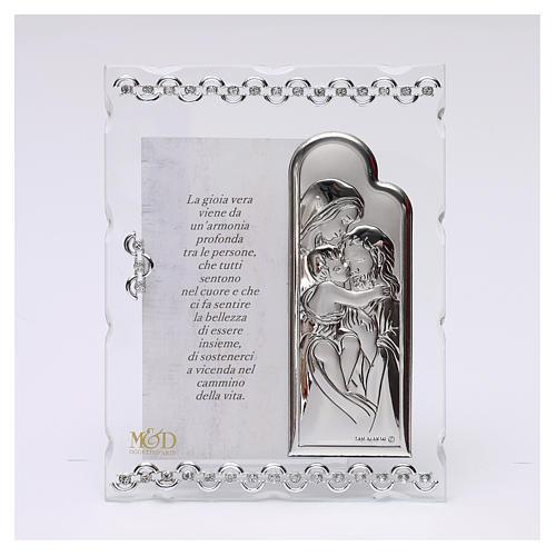 Quadretto con preghiera 15x10 cm 1