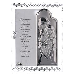 Quadretto regalo S. Famiglia 20x15 cm s1
