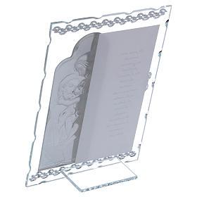 Quadretto regalo S. Famiglia 20x15 cm s3