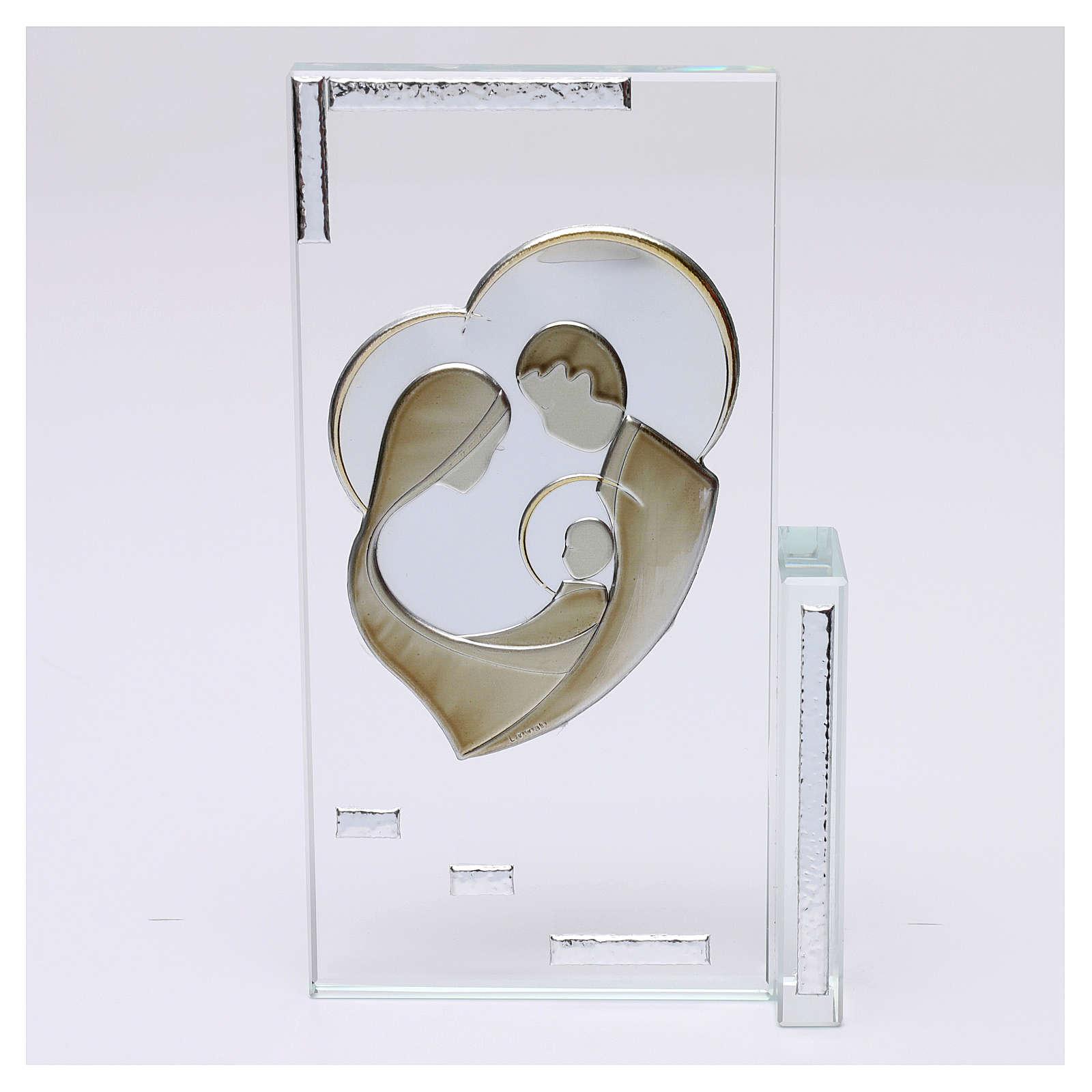 Cadre cristal Sainte Famille 20x10 cm 3