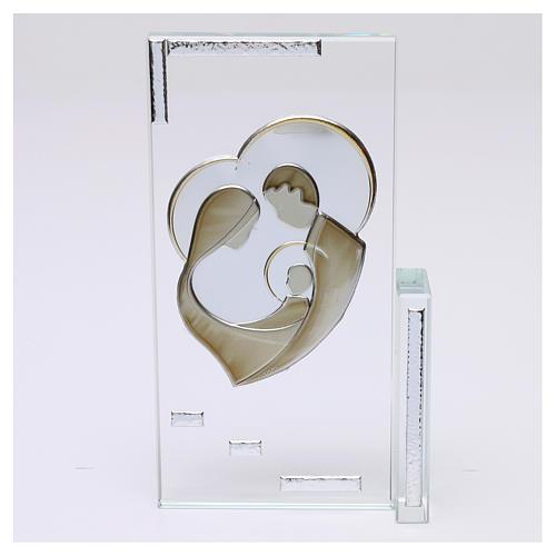 Cadre cristal Sainte Famille 20x10 cm 1