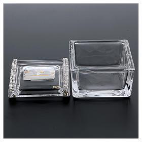 Lembrancinha caixa com anjos 5x5x5 cm s3