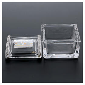 Glass box with Angels 2x2x2 in s3