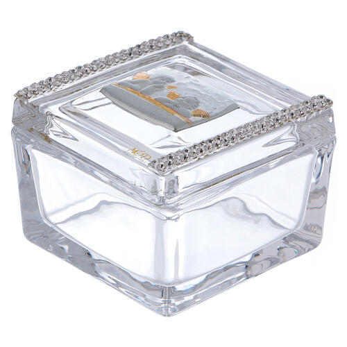 Glass box with Angels 2x2x2 in 1