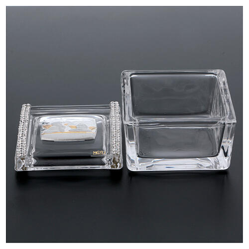 Glass box with Angels 2x2x2 in 3