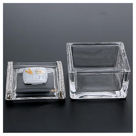 Box-shaped party favour for Holy Communion 5x5x5 cm s3