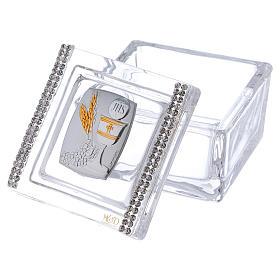 Bonbonnière boîte Communion 5x5x5 cm s2