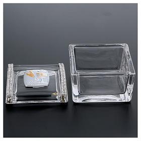 Bonbonnière boîte Communion 5x5x5 cm s3