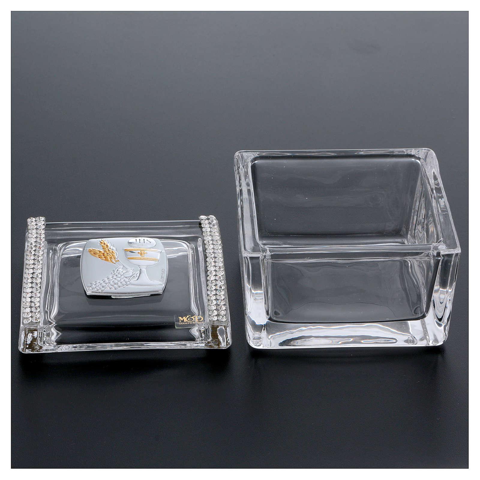 Bomboniera scatola Comunione 5x5x5 cm 3