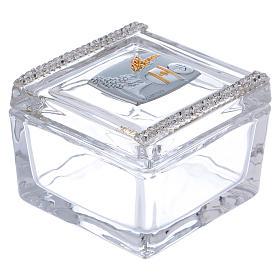 Bomboniera scatola Comunione 5x5x5 cm s1