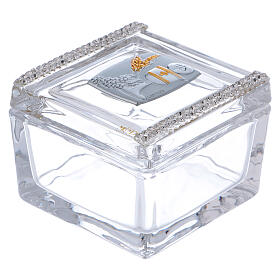 Religious favor box Holy Communion 2x2x2 in s1