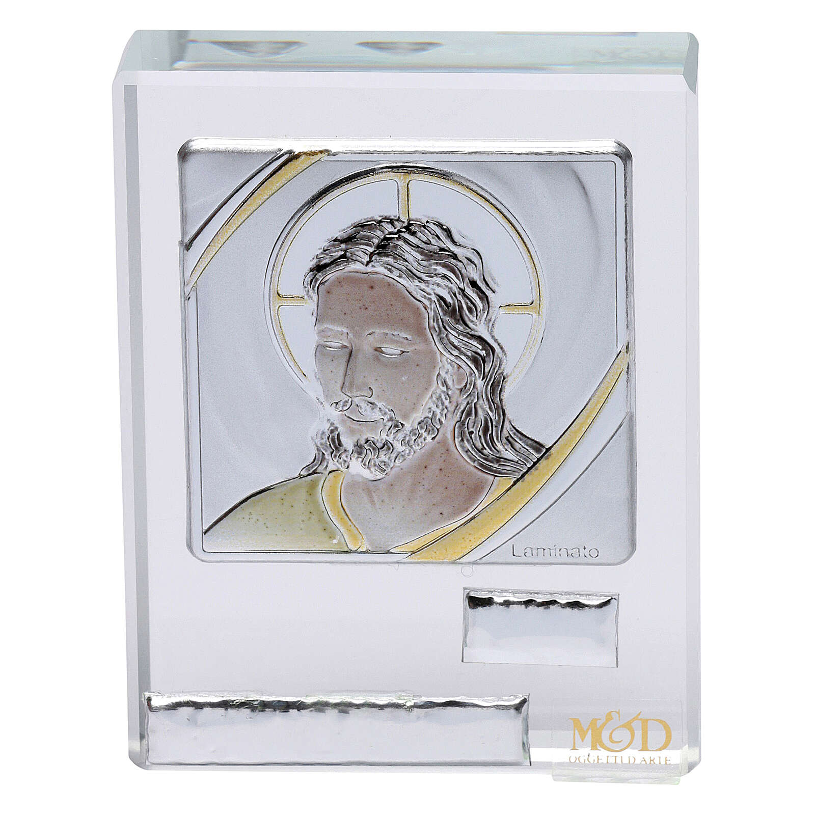 Religious favor picture Face of Christ 2x2 in 3