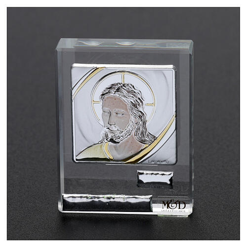 Religious favor picture Face of Christ 2x2 in 2