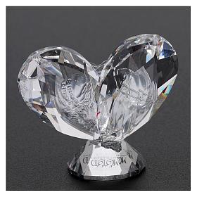 Bomboniera cuore Sacra Famiglia 5x5 cm s3