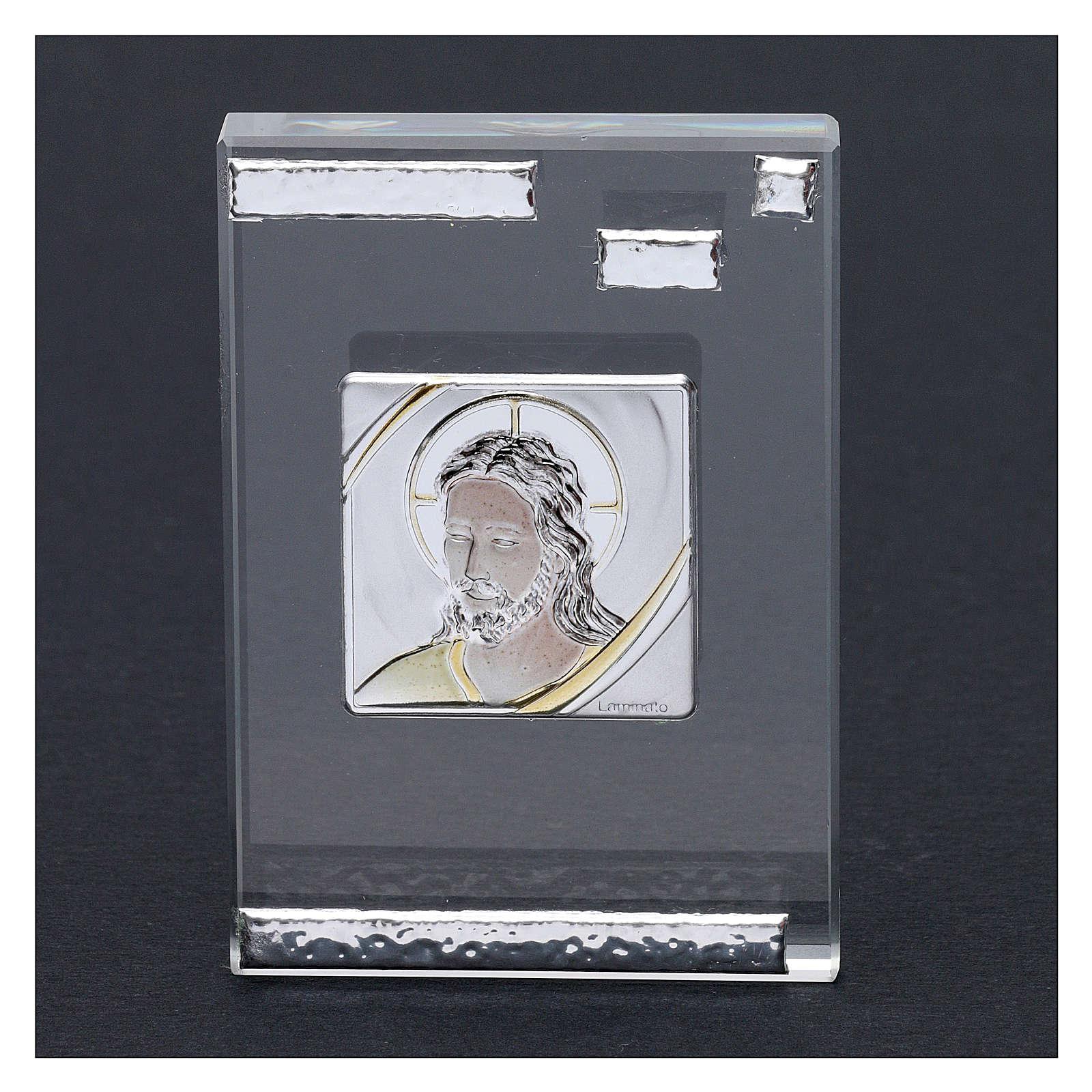 Bomboniera icona Cristo 10x5 cm 3